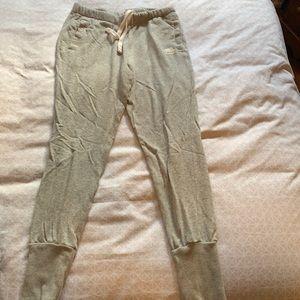 Roots light knit pants